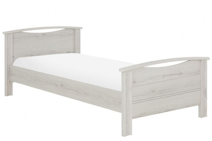 Montana Helvezia Oak  90 cm Single Bed